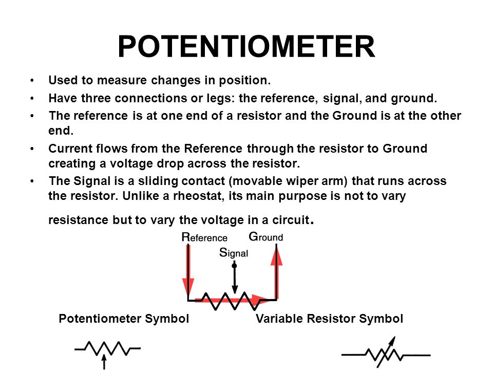 Lovely Potentiometer Symbol Schematic Ideas - Electrical and Wiring ...