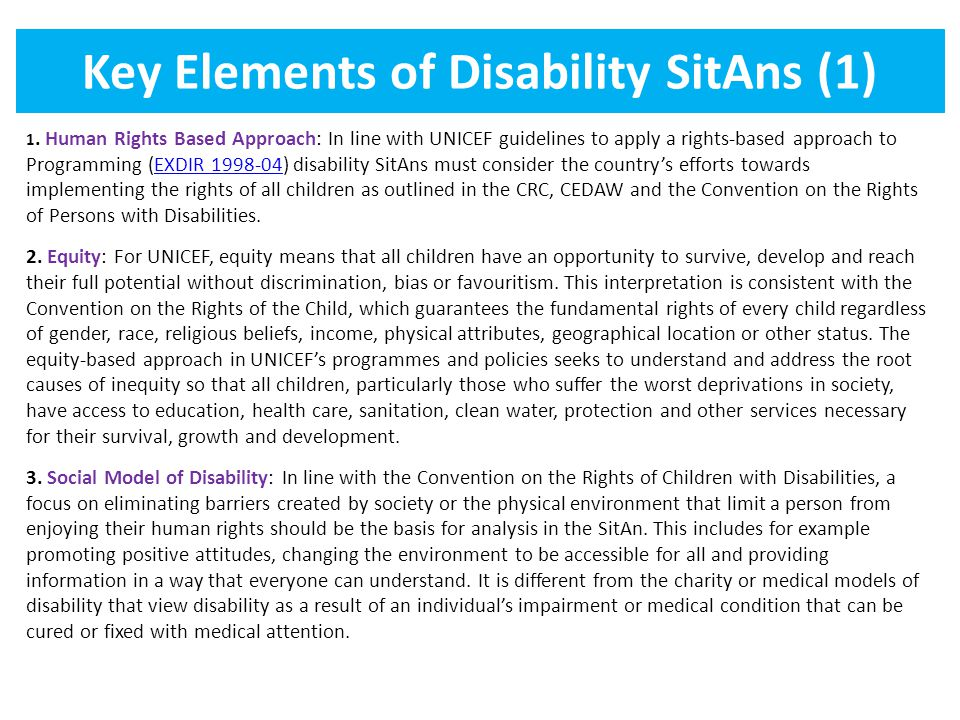 Key Elements of Disability SitAns (1)