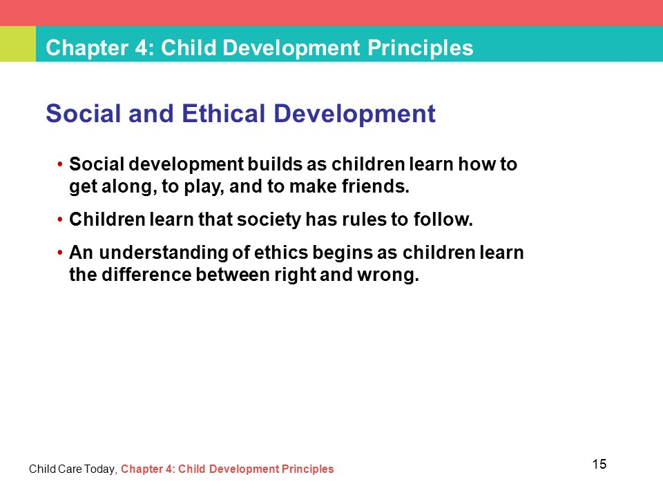 child development principles Ten principles for promoting language, literacy, and learning for preschool   continued use and development of the child's home language will benefit the  child.