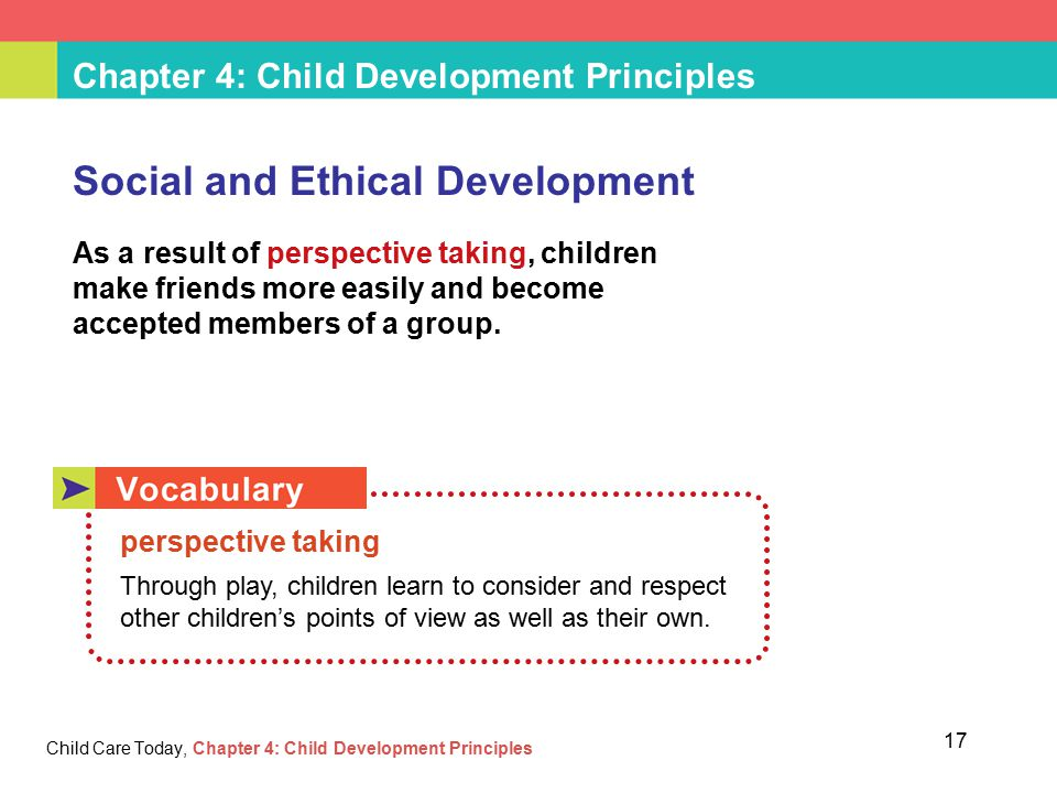 development and learning in children through the principles of human development Principles of human growth and development psyc 103 focuses on the  scientific study of the biological, psychological, and social changes which occur  over.