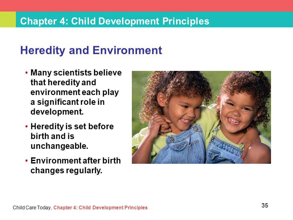 role of heredity of human development Read this essay on role in genetics genetics play a role in development of physical traits there is no guarantee of successful results) my stance on this debated topic is that human genetic engineering should not be funded or researched.