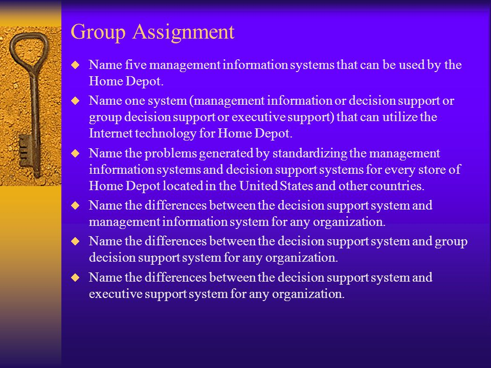 difference between decision support systems management information system and eis Decision support systems or business intelligence:  comparison of business intelligence and decision support system  executive information systems (eis) and .