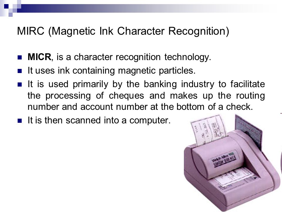 magnetic ink character recognition - photo #37