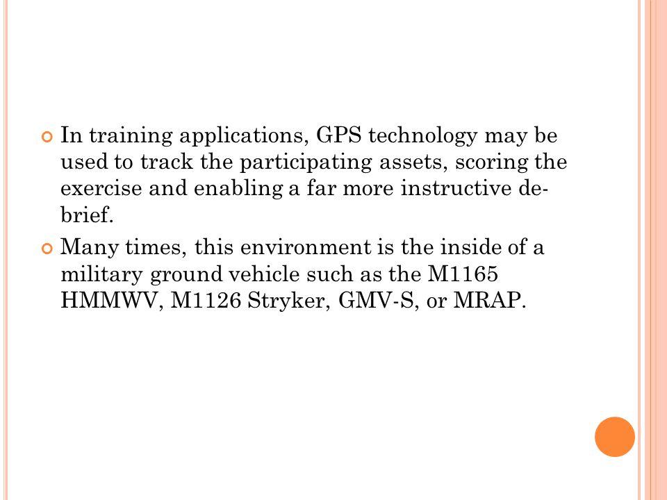 the gps technology essay Descriptive essay sample  modern gps technologies and innovations  all the  possibilities provided by gps technologies allow modern.