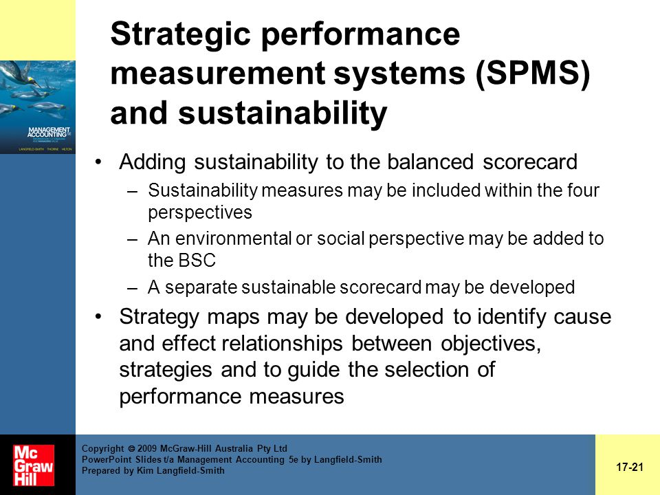 strategic management accounting and performance measurement Management accounting: a strategic focus shahid ansari, california state university and performance measures for activities how to use abm information to recommend improvements in activities purpose of management accounting-the strategic triangle.