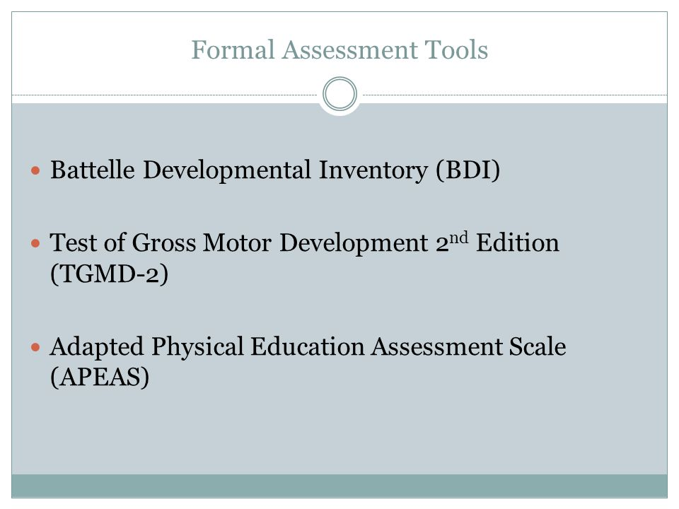 battelle developmental inventory 2nd edition The battelle developmental inventory, second edition (bdi-2) is an early childhood instrument based on the concepts of developmental milestones as a child develops, he or she typically attains critical skills and behaviours sequentially from simple to complex.