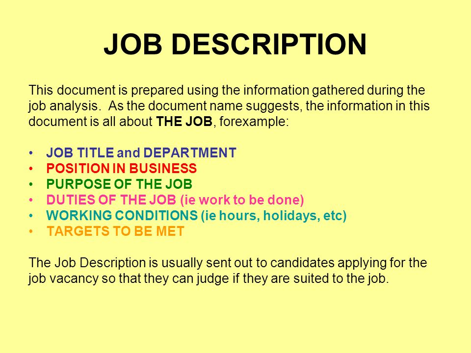 document job