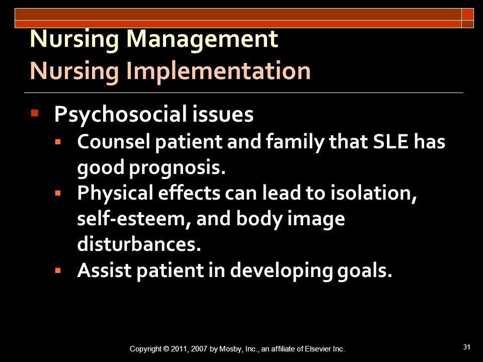 nursing case study on lupus erythematusos