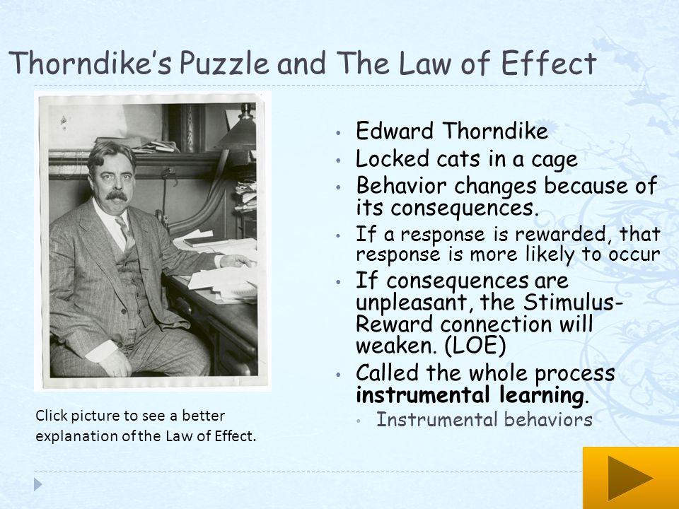 edward thorndike law of exercise