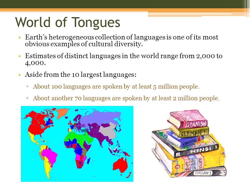 Chapter Language Ppt Video Online Download - Languages on earth