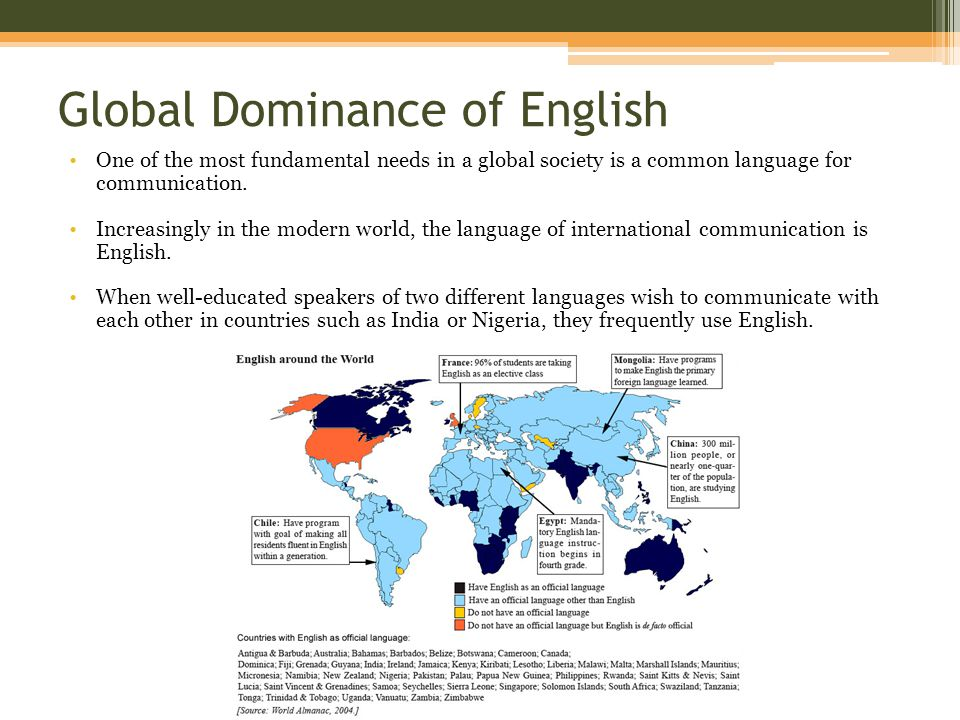 english language in international communication Options offered in the second and third years have included how to teach english as a foreign language, international business english language and communication.