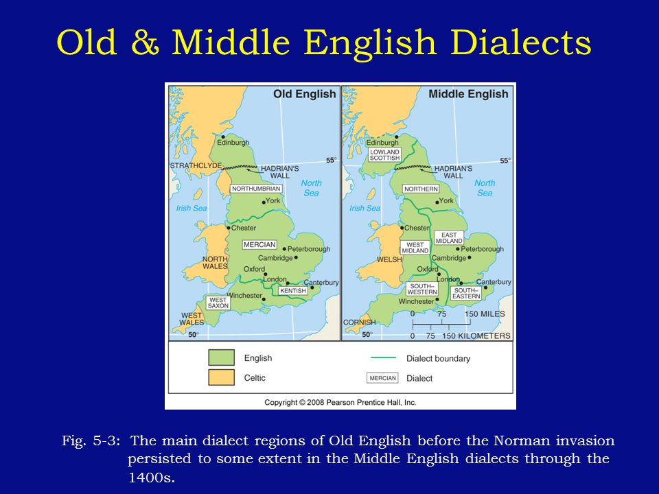 Old & Middle English Dialects
