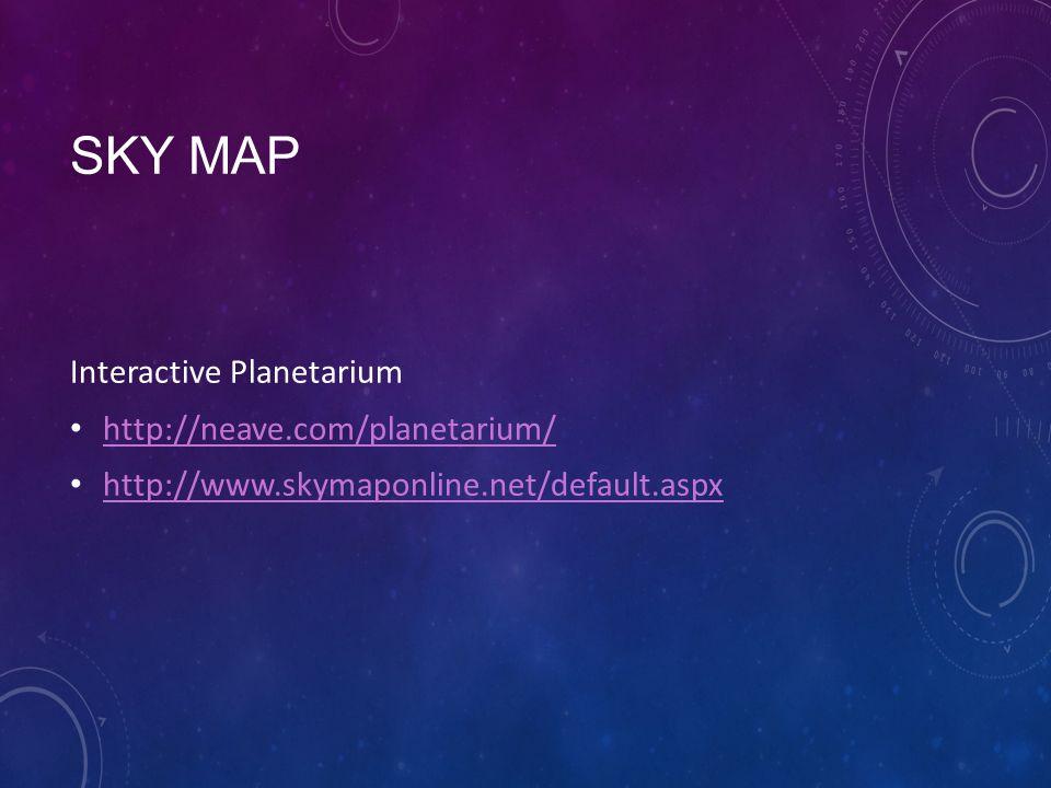 Sky Map Interactive Planetarium Ppt Video Online Download - Interactive sky map