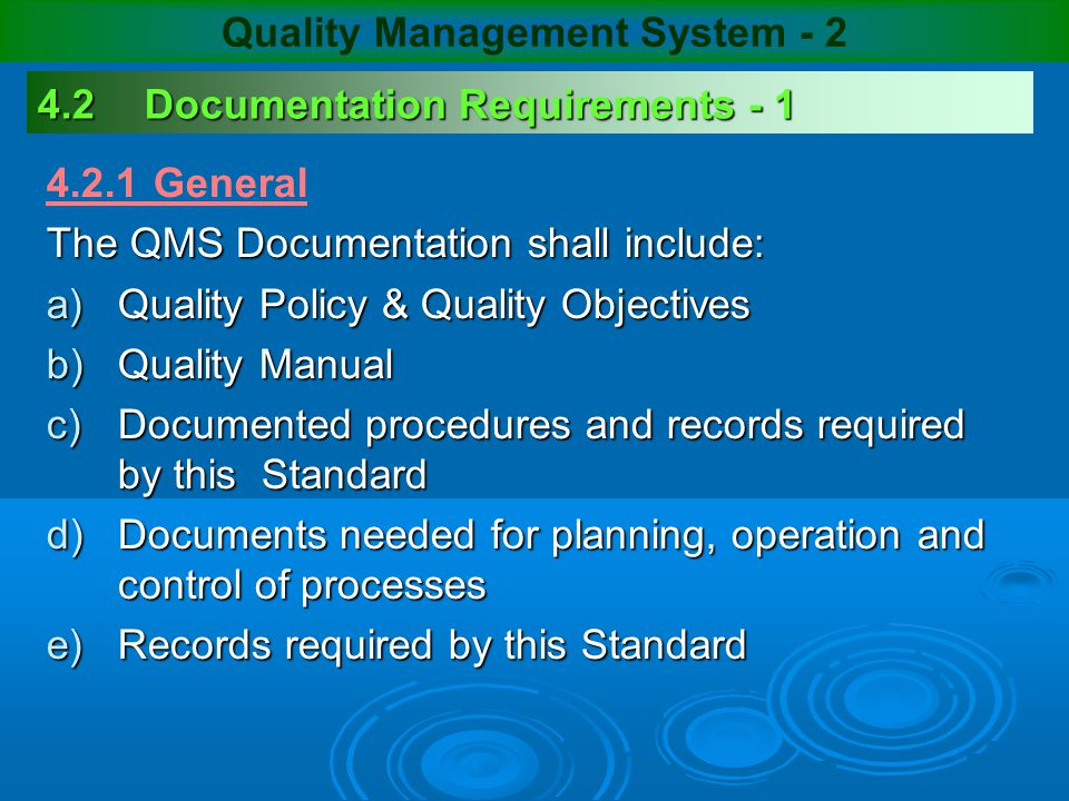 quality management system manual pdf
