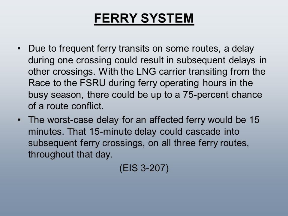 FERRY SYSTEM