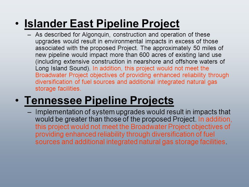 Islander East Pipeline Project