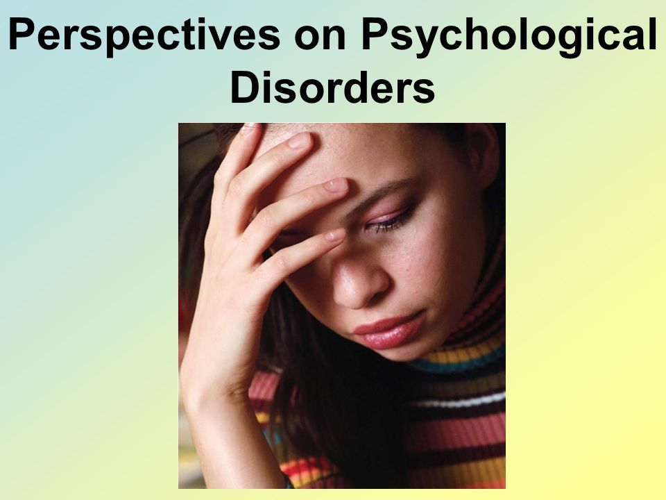 the issues of the attention deficit hyperactive disorder and the neurological disorders in the psych 51 associated disorders 52 bipolar disorder attention-deficit/hyperactivity disorder more attention problems.