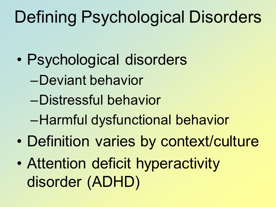 Top 10 Worst Mental Disorders