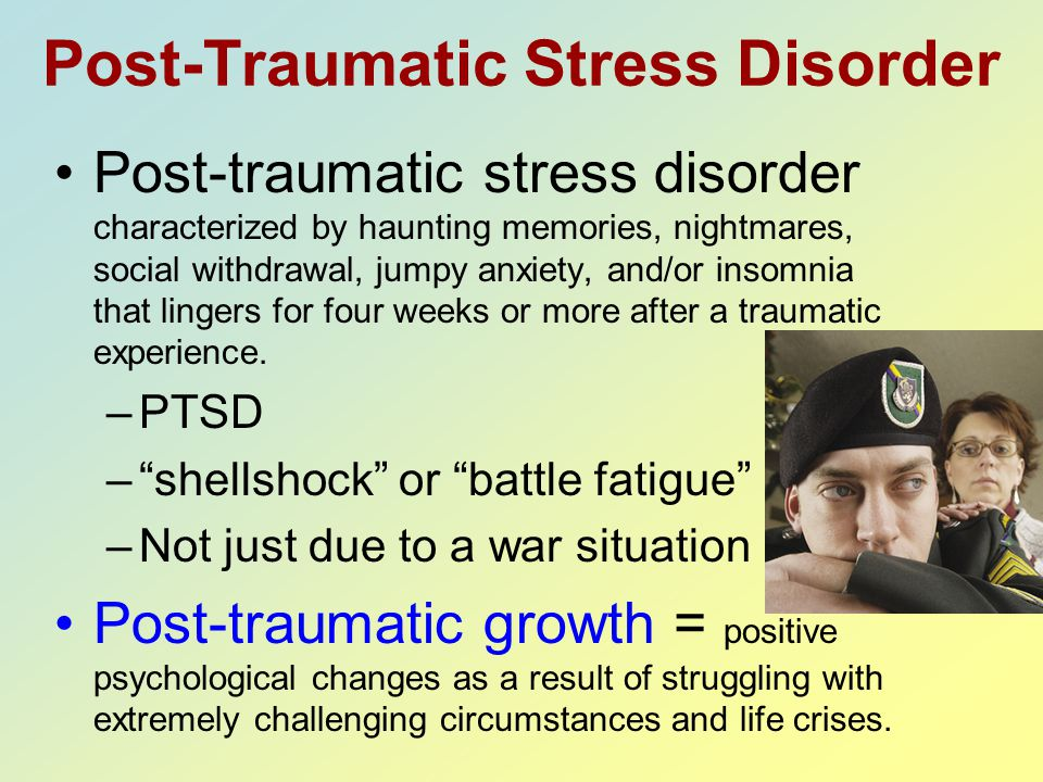 the struggle post traumatic stress disorder essay Free essay: the human brain is extremely complex, top scientists and surgeons still struggle to comprehend how it works the way that the brain can process.