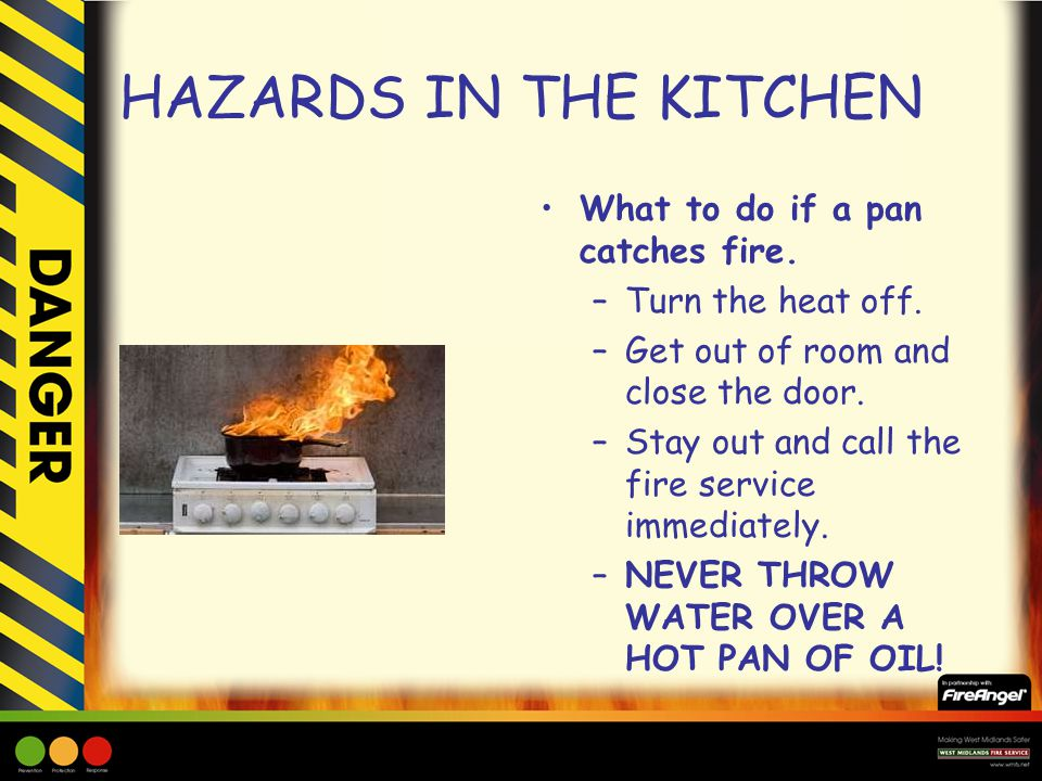 Hazards In The Kitchen Ppt Download