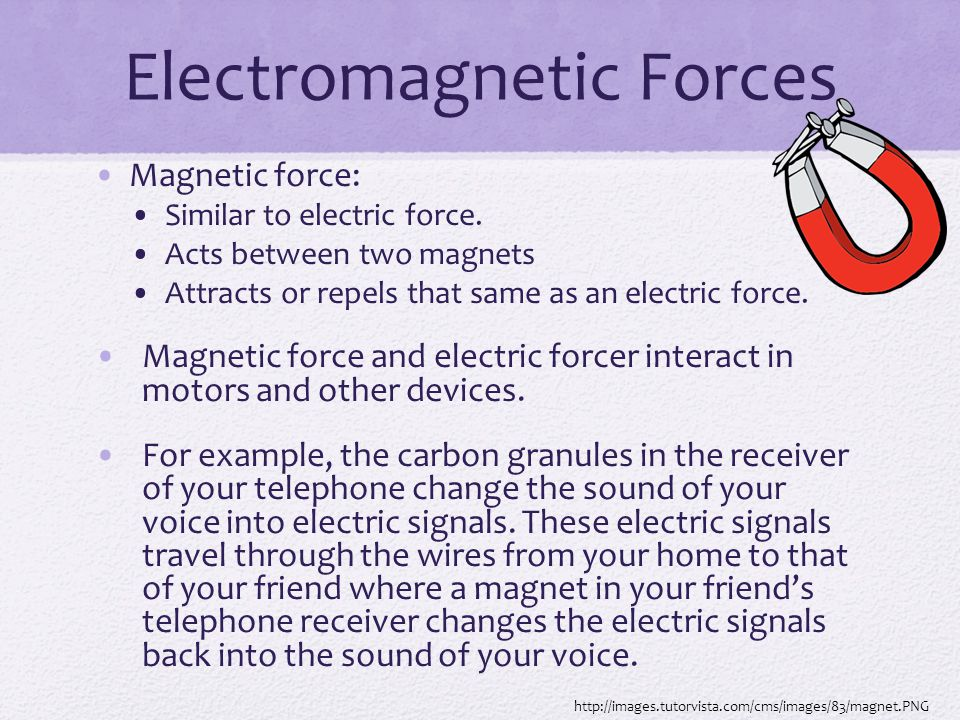 magnetic force examples - photo #36