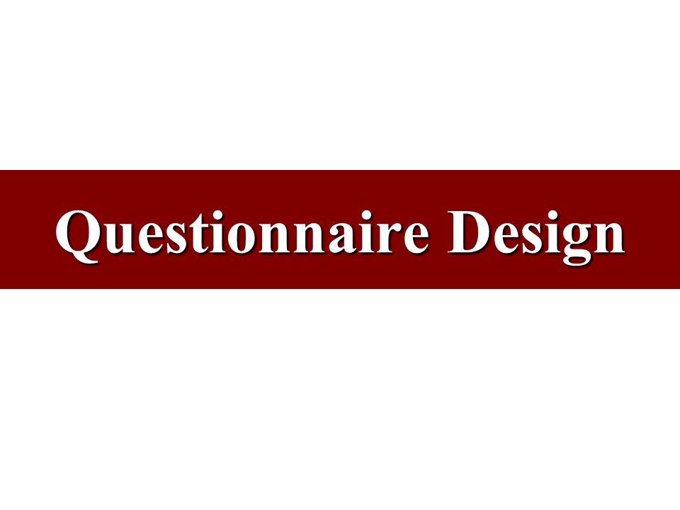 brand image questionnaire