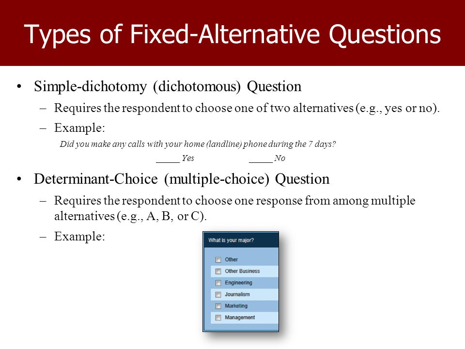 how to choose respondents for questionnaire