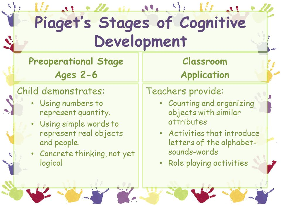 cognitive development adult activity