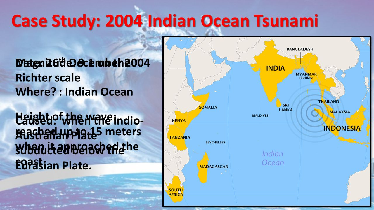 Effects and Impacts of the 2004 Asian Tsunami by Ciaran ...