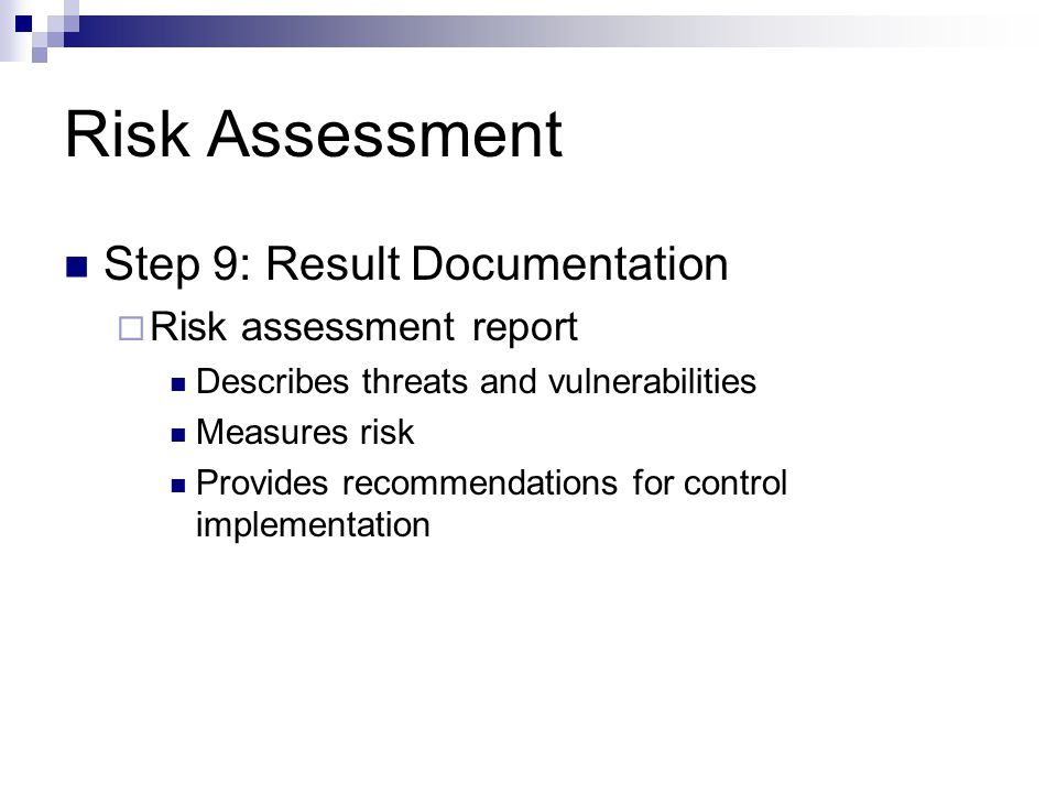 Risk Analysis Coen Ppt Video Online Download