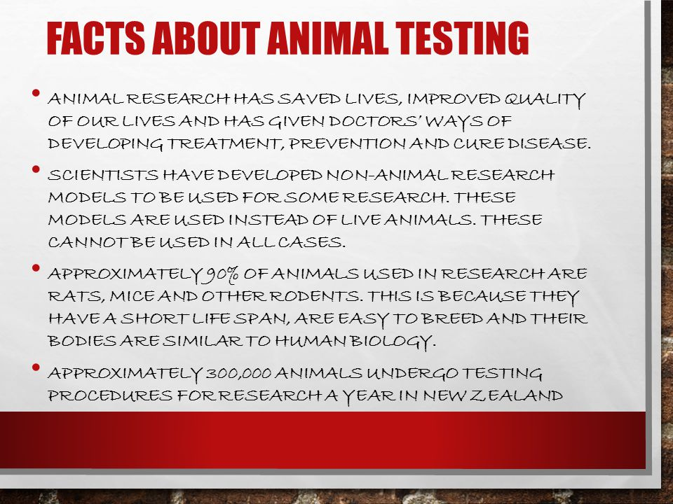 animal testing saves lives Save our monkeys in mauritius money and animals' lives being wasted the support for animal testing is based largely on anecdote and is not backed up.