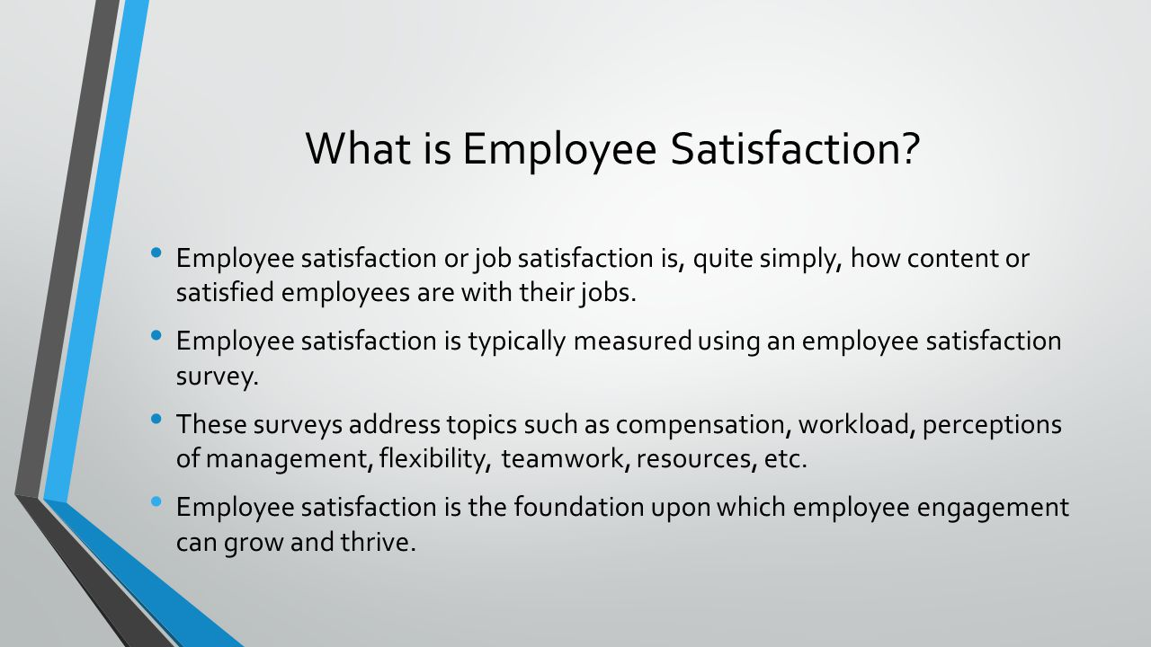 job satisfaction and employees performance Job satisfaction and employees' work performance: a case study of people's bank in jaffna peninsula, sri lanka balasundaram nimalathasan.