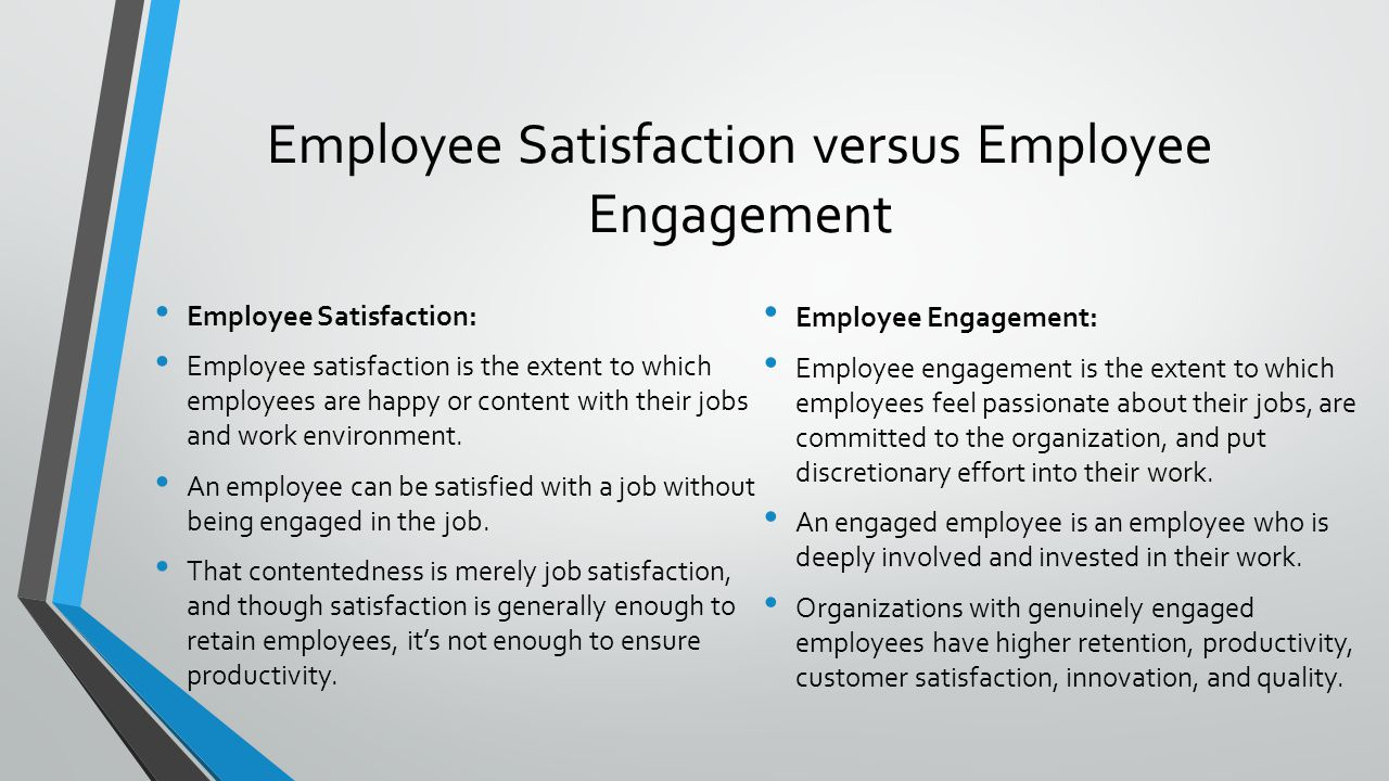impact of employees satisfaction on customer satisfaction The influence of rewards and job satisfaction on employees in the service industry shagufta sarwar and  this has further led to a debate as to what variables actually impact employees' satisfaction with their job,  customer satisfaction and loyalty (o'reilly, et al 1991.