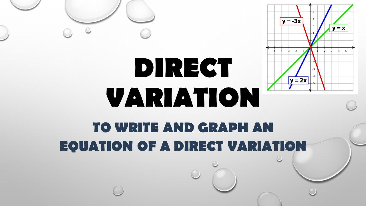 Recognizing direct & inverse variation: table