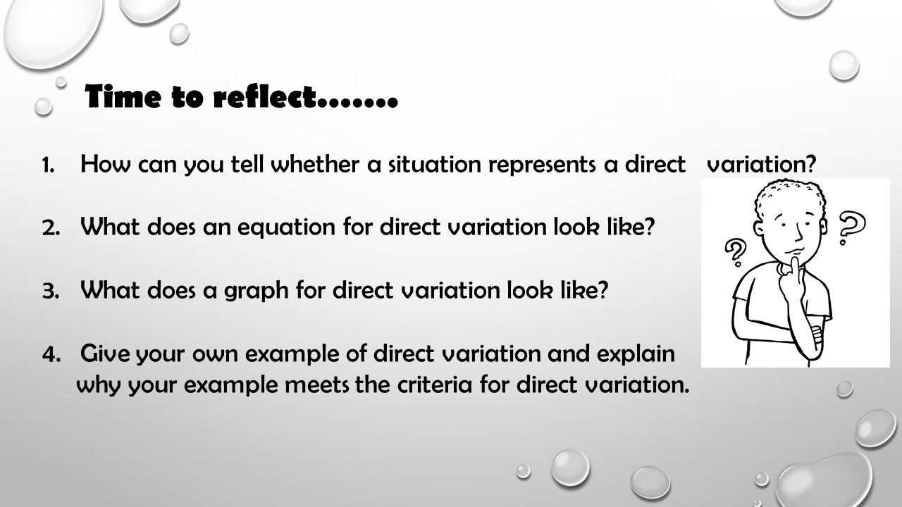 How Can You Tell Whether A Situation Represents A Direct Determine