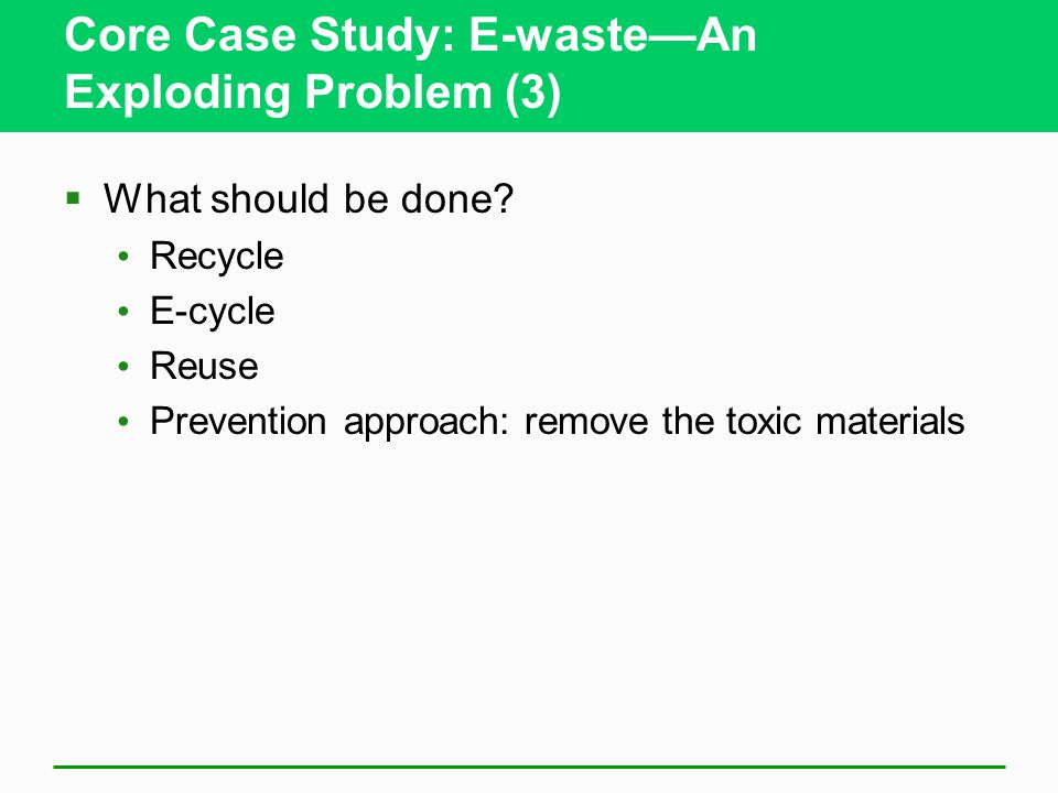 an introduction to the issue of toxic waste Introduction and summary a alameda  problems of small quantity  waste generators, household hazardous wastes, and waste transportation issues.