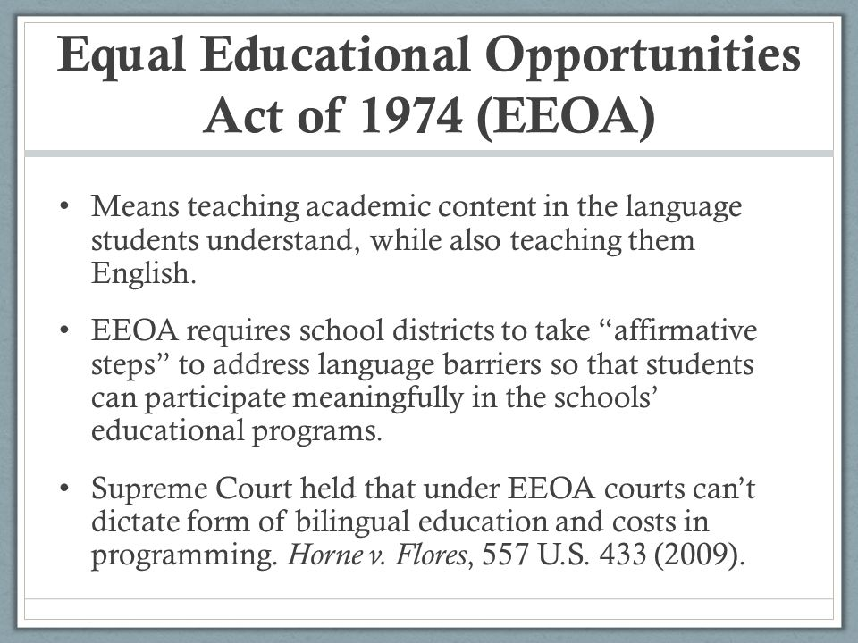 how can the obstacles to equal educational opportunities be addressed Rebecca l case excerpted from: rebecca l case, not separate but not equal: how should the united states address its international obligations to eradicate racial discrimination in the public education system , 21 penn state international law review 205-226, 215-226 (fall 2002) (136 footnotes).