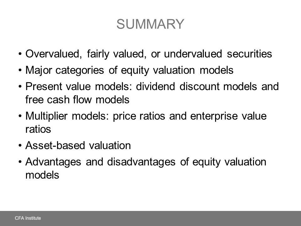 advantages and disadvantages of dividend discount model pdf