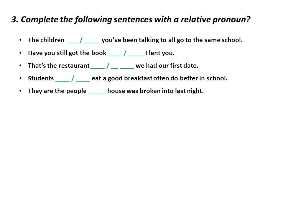 English Exercises Relative pronouns 280210
