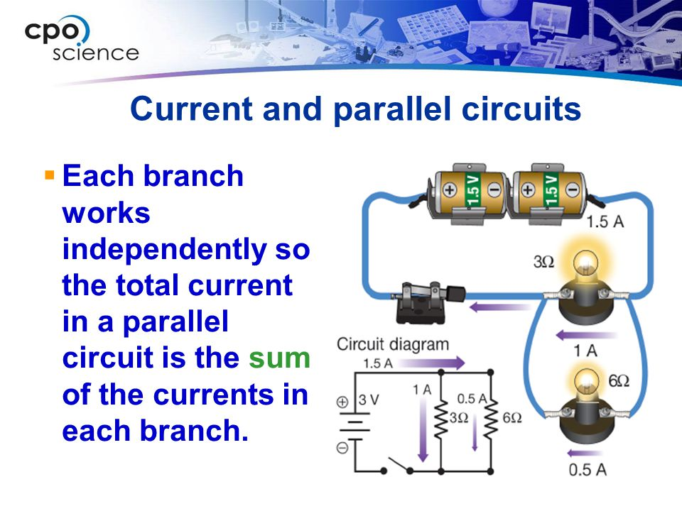 Current and parallel circuits