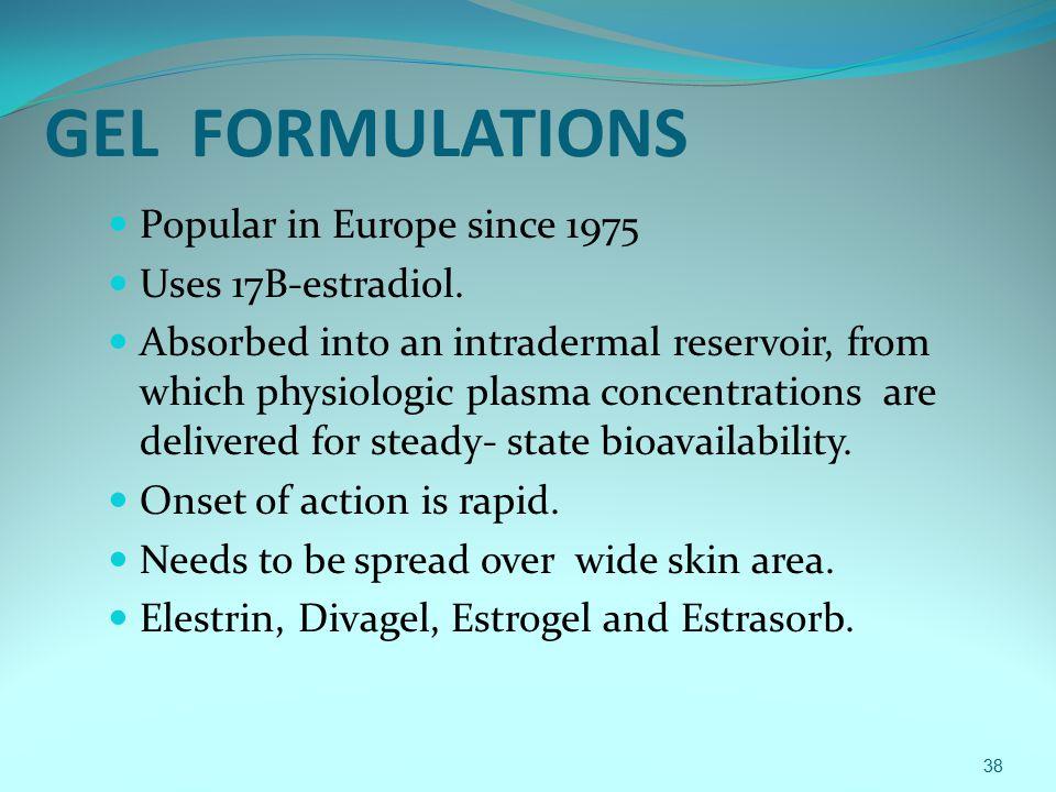 Estradiol absorption patch vs cream