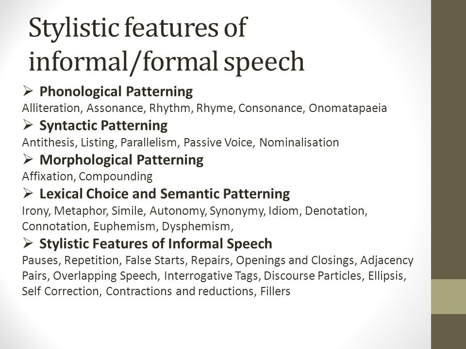Writing on Formal and Informal Language - ppt video online download