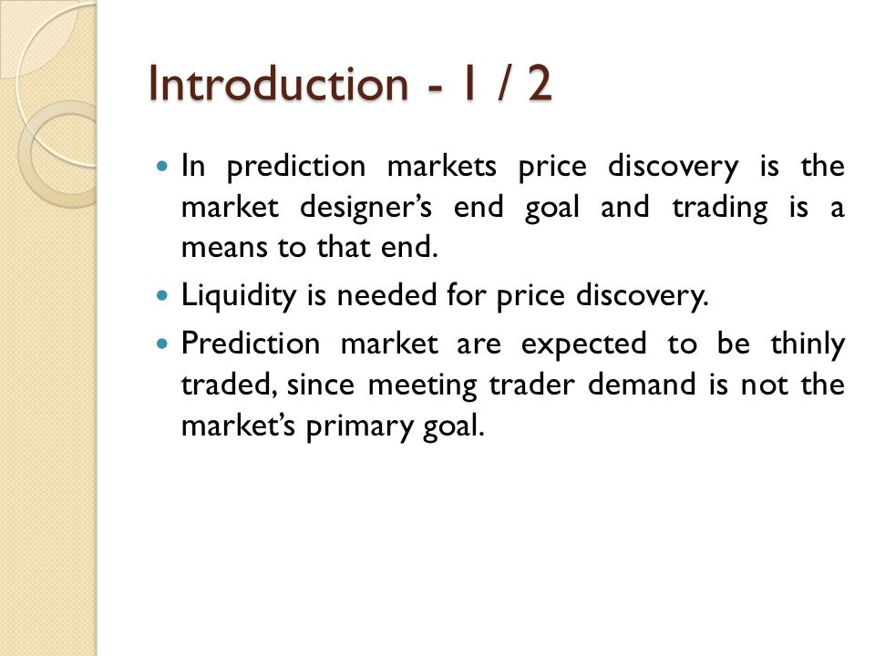 Role of the Primary Market