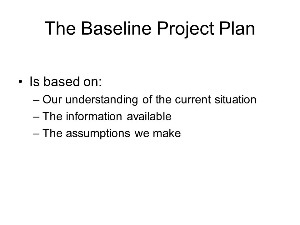 baseline management plan Approach in developing environmental management plan environmental management plan with supporting baseline studies for the project and site.