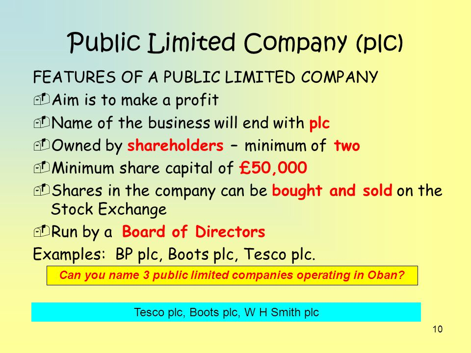 Company profile for Tesco