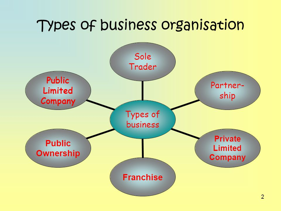 forms of business organisation Module - 1 business environment notes 25 forms of business organisation diploma in insurance services to bear the loss of business, however, he can take the help of.
