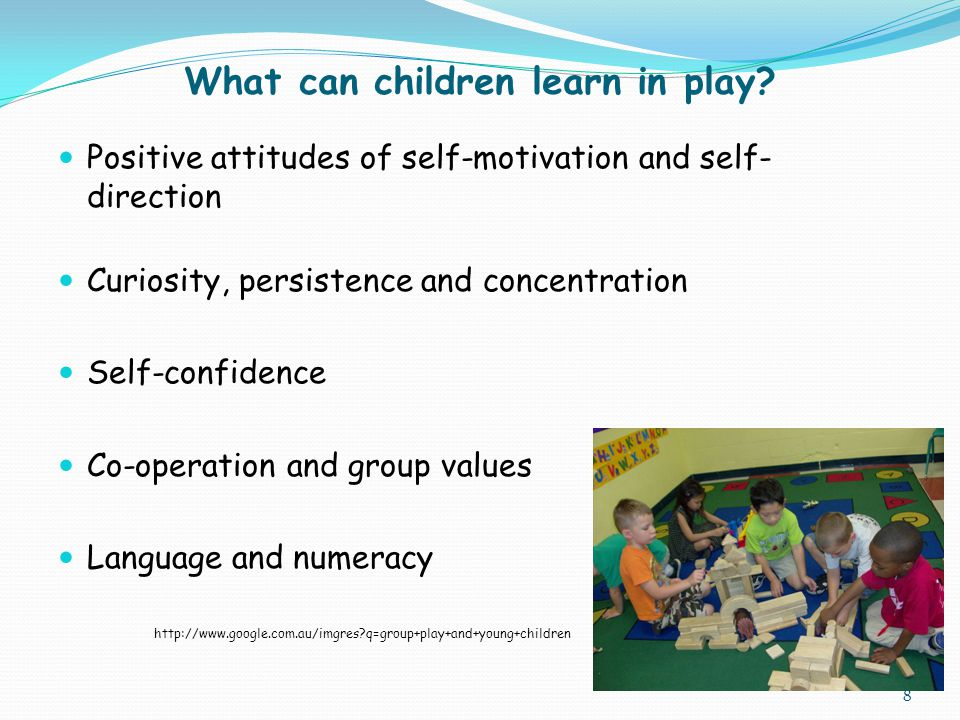What can children learn in play