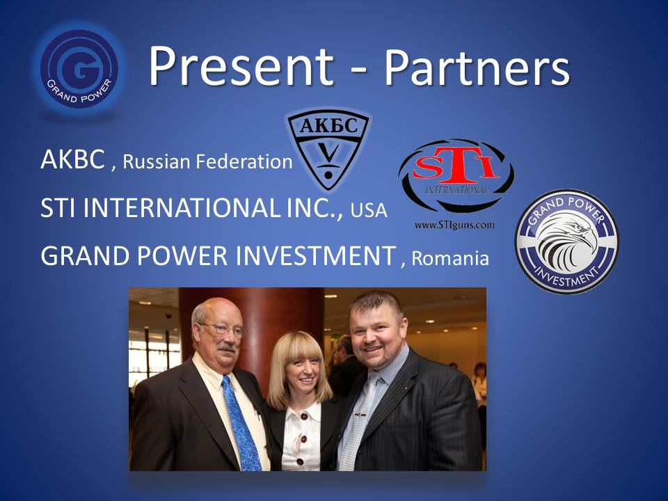 Present - Partners AKBC , Russian Federation