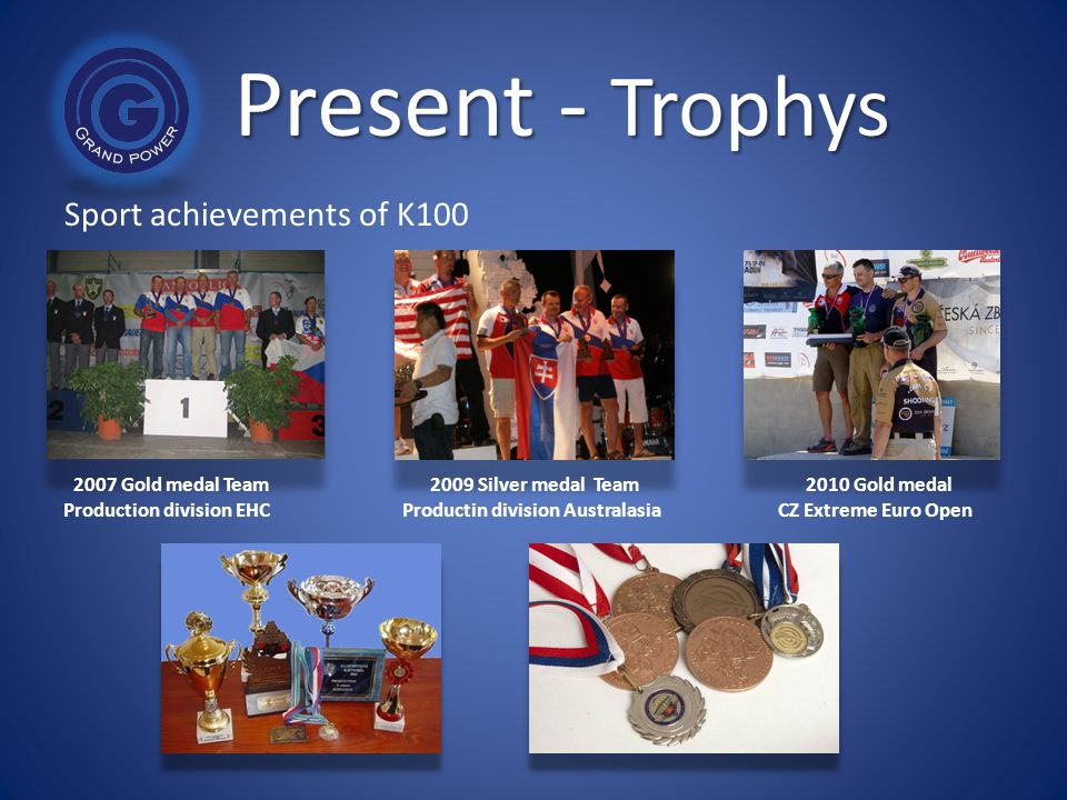 Present - Trophys Sport achievements of K100