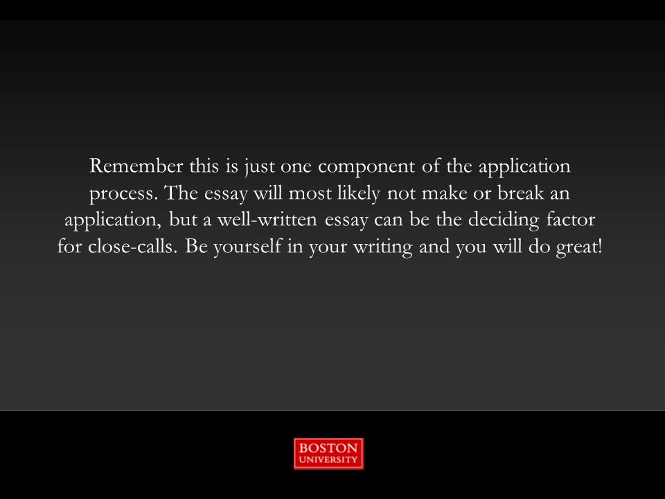 writing workshop constructing your college essay ppt video  14 remember